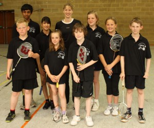 2011 Under 13 Team with Jill Pittard lo res